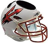 NCAA Arizona State Sun Devils Orange Helmet Desk Caddy, One Size, White