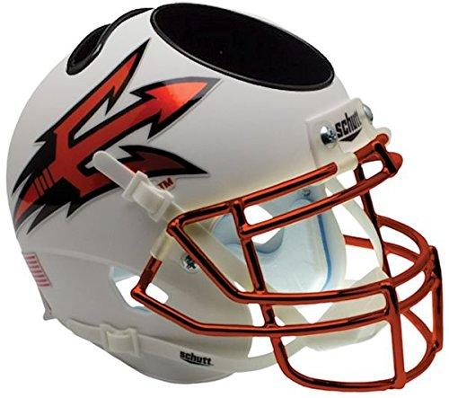 NCAA Arizona State Sun Devils Orange Helmet Desk Caddy, One Size, White by Schutt