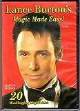Lance Burton s Magic Made Easy: Volume 1
