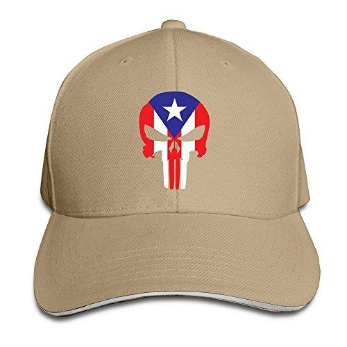 MaNeg Republican Party Skull Sandwich Peaked Hat & Cap