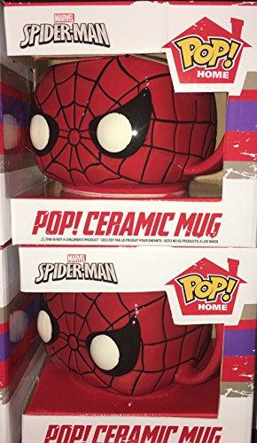 POP Home Marvel: Spider-man Funko Ceramic Mug 2 Pack