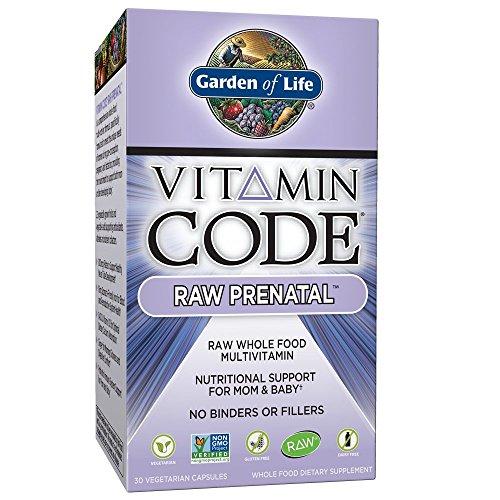 Garden Life Prenatal Vitamins Supplement