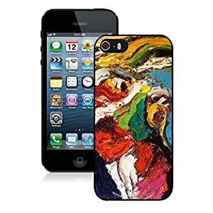 Kingsbeatiful Abstract painting Iphone 4s case covers Black GNuN4smWATc9 Cover;iphone 4s case covers,4s case cover,iphone 4s case covers.