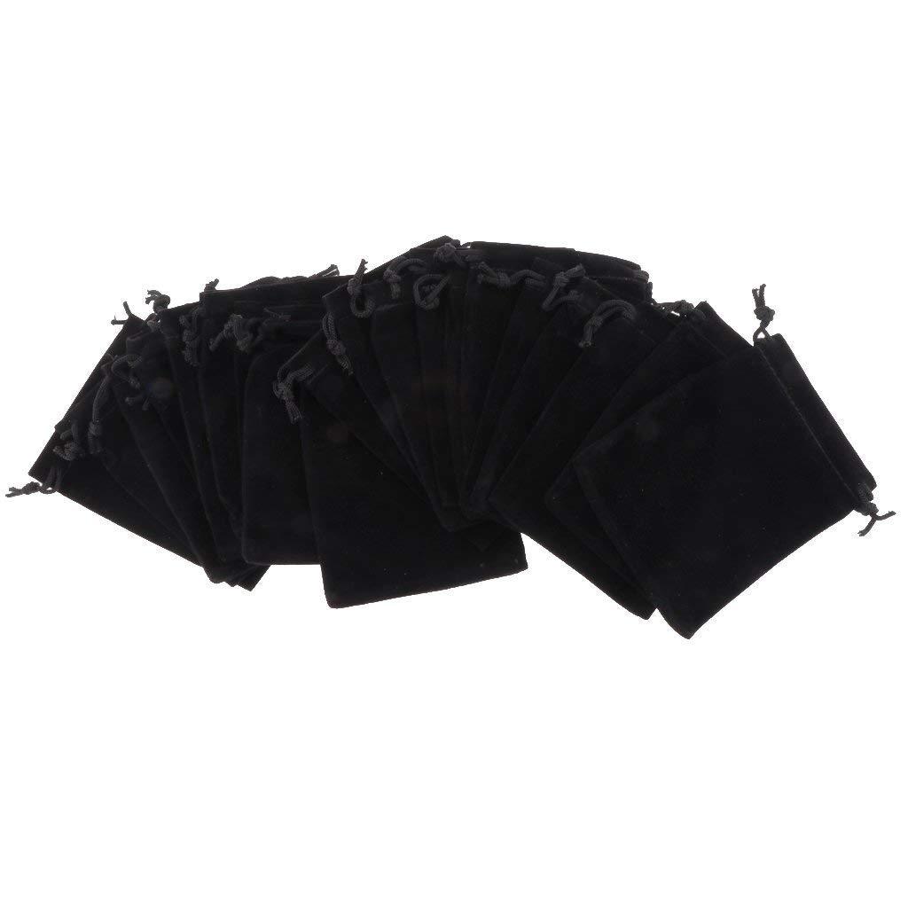 Amazon.com: 20 bolsas de joyería de terciopelo bolsa de ...