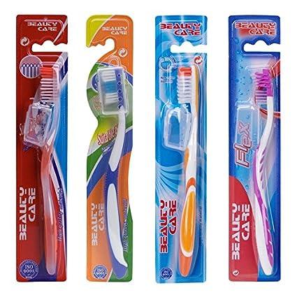 Cepillos de dientes para adulto-Lote de 48 cepillos de dientes, dureza media