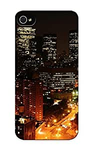 Bvlnvs-4876-oghotjy New Premium Flip Case Cover Downtown Manhattan Skin Case For Iphone 5/5s As Christmas's Gift