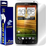ArmorSuit MilitaryShield HTC One X Screen Protector Anti-Bubble HD Shield w/ Lifetime Replacements
