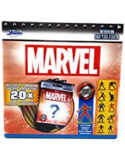 Nano Metalfigs Marvel 100% Die Cast Collectible Blind Bags of Mystery Figures - 20 Blind Bags Total of Mystery Figures from The Marvel Universe