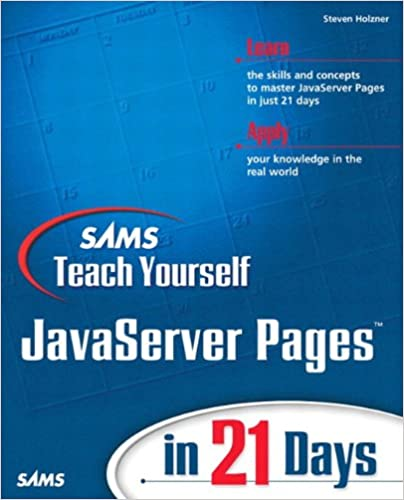 Download E-books Sams Teach Yourself JavaServer Pages in 21 Days PDF