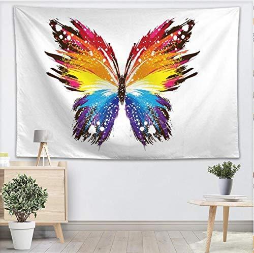 YUYINGXIANG Mariposa de Color Tapiz de Pared Yoga Oficina ...