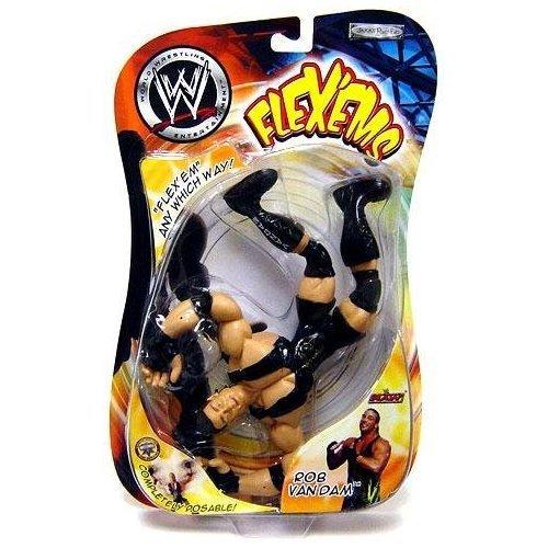 WWE Wrestling Action Figure Flex'ems Series 5 RVD Rob Van Dam toys [parallel import goods] by Jakks Pacific