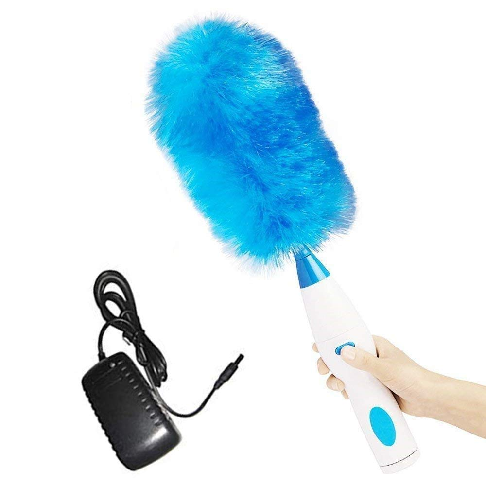Lbzbz Motorised dust 360 Touch Button Home Cleaning, Rechargeable Duster