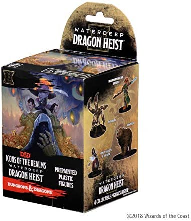 D&D Dungeons&Dragons Icons of The Realms Waterdeep Dragon Heist Booster Brick