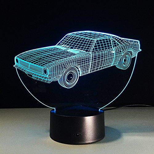 3d car night light - 5