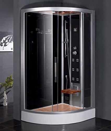 Steam Shower W Wooden Floorboard Cleaning Function Dz967f8 Modern