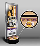 Los Angeles Lakers My First Game Ticket Display Stand