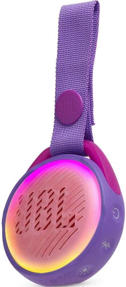 JBL by Harman JRPOP Portable Bluetooth Speaker for Kids - Purple - JBLJRPOPPURAM