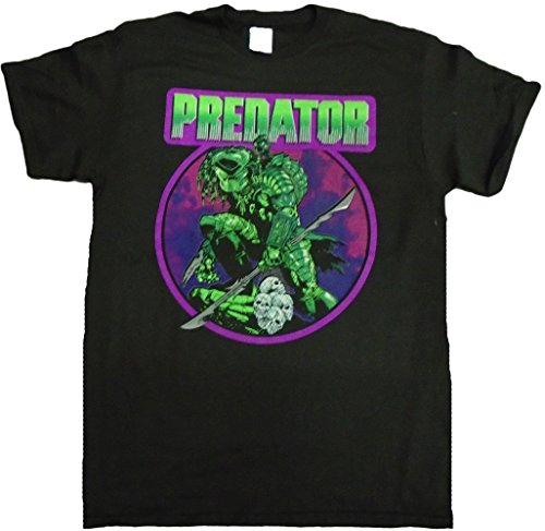 Predator Retro Comic T-Shirt for Men