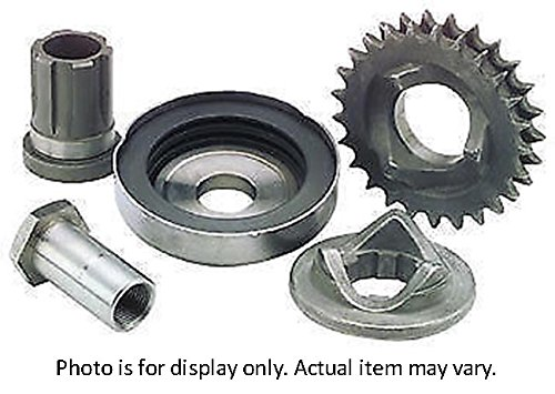 Bikers Choice Replacement Extended Crankshaft Nut for Compensating Sprocket and Cover Kit - Shaft Bikers Sprocket Choice
