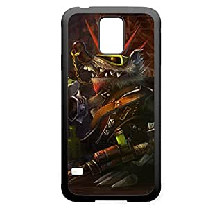 Twitch-002 League of Legends LoL For Case Samsung Galaxy Note 2 N7100 Cover - Hard Black