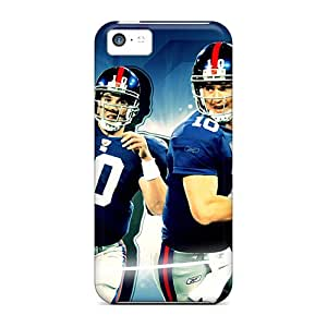 Bumper Hard Cell-phone Case For Iphone 5c (CcW17507GMLW) Support Personal Customs High-definition New York Giants Pictures