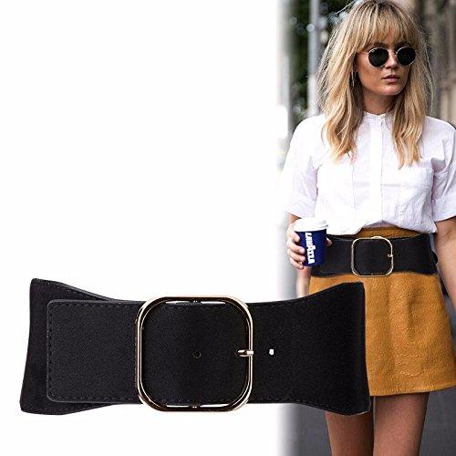 2388997e803 2018 élastique élastique ceinture femme large Manteau robe veste Brown   Amazon.fr  Sports et Loisirs