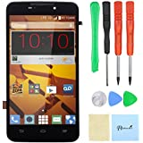 ZTE MAX Boost Mobile N9520 LCD Screen Digitizer with Frame