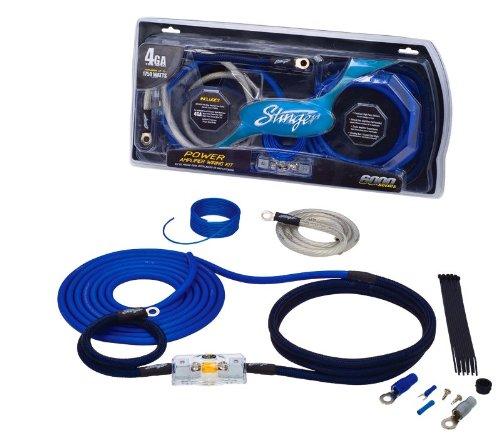 SK6241 - Stinger 4 Gauge 6000 Series Power Amplifier Installation Kit
