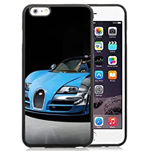 New Personalized Custom Designed For iPhone 6 Plus 5.5 Inch Phone Case For 2013 Bugatti Veyron 16.4 Grand Sport Vitesse Blue Phone Case Cover