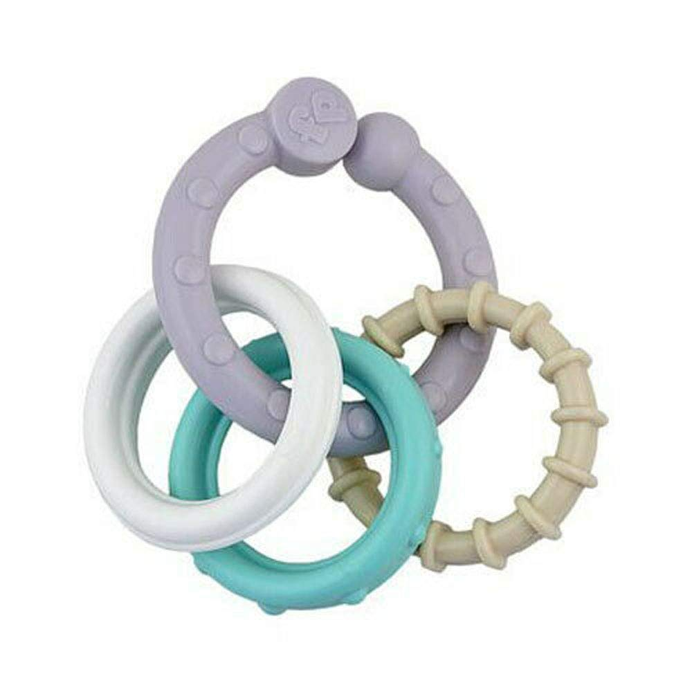 Replacement Toy Links for Fisher-Price Moonlight Meadow Deluxe Cradle 'n Swing CHM78 - Includes White Blue Gray Links