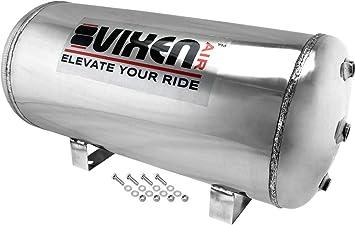 Air Tank 5 Gallon Steel 9 Port For Air Ride Train Horn or Air Bag Suspension