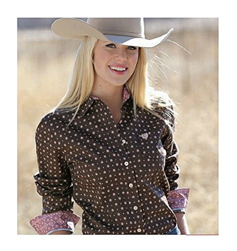 Cinch Women's Cotton Plain Weave Print