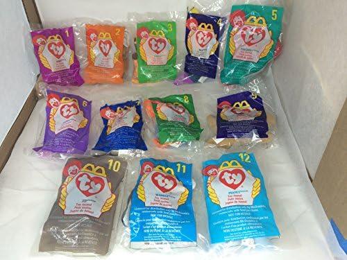 McDonald/'s Ty Teenie Beanie Babies 1998 Bongo the Monkey #2 Brand New