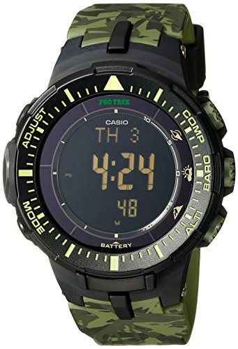 Casio PRG 300CM 3CR Solar Power Triple Sensor Watch