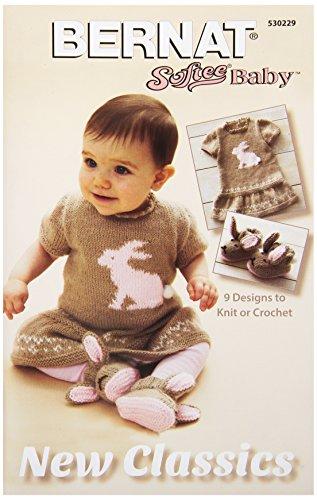 - Spinrite Bernat Knitting and Crochet Patterns, Softee Baby New Classics