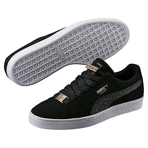 Lace Black Sneakers Mens PUMA Classic Shoes 5 Fabulous 11 up Suede Boy B SRqw0wXW4