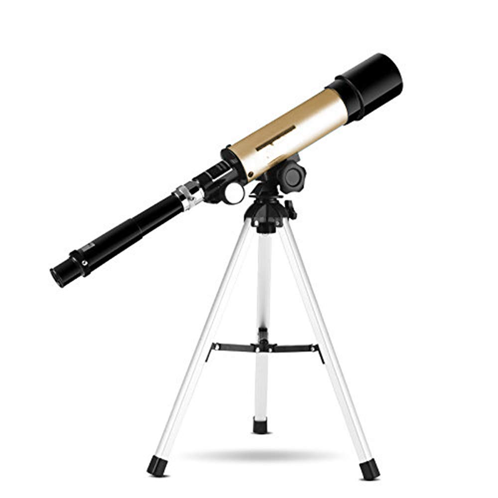 QYY 360X50mm Astronomical Telescope, Monocular Outdoor Spotting Telescope with Tripod 90 Times Zooming Astronomical Telescope Best Gift for Children,B by QYY