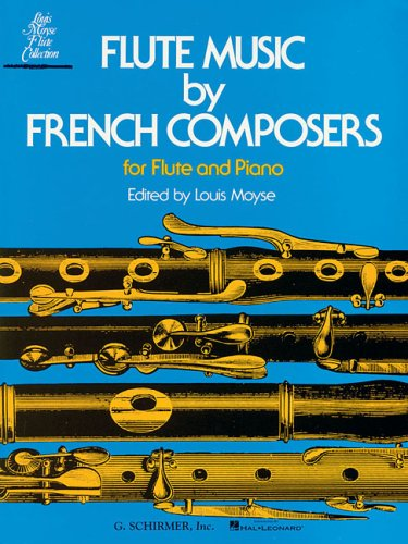 Solo Flute Pieces - Flute Music by French Composers for Flute and Piano