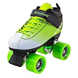 Riedell Skates - Dash - Indoor Quad Roller Skate for Kids | Green