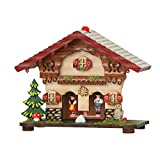 weather house barometer - German Black Forest weather house TU 825