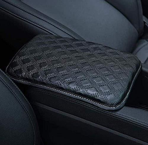 LIHNG Auto Center Console Pad Car Armrest Cushion Soft Leather Auto Center Console Pad Cover Handrail Box Universal Ergonomic Design Decoration Cushion