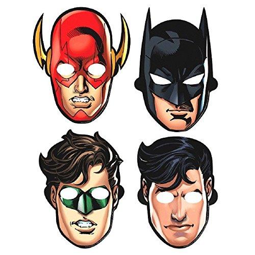 Justice League Paper Masks, Party