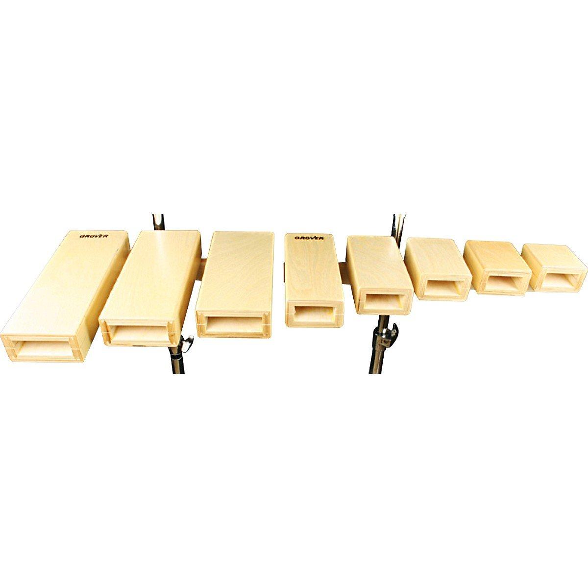 Spectra Sound Open Tone Temple Blocks Set of 5