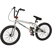 "Hoffman Cirrus Boy's BMX Bike Silver, 20"" Wheel"
