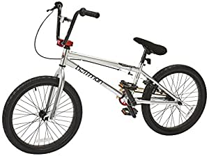 "Hoffman Cirrus Boy's BMX Bike Silver, 20"" Wheel"