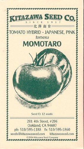Tomato Hybrid - Momotaro (Tough Boy) - 12 seeds by Kitazawa Seed Company