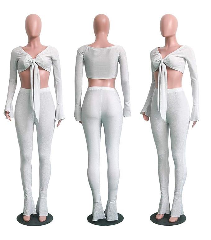 Amazon.com: Uni Clau – Conjunto de 2 piezas de trajes de ...