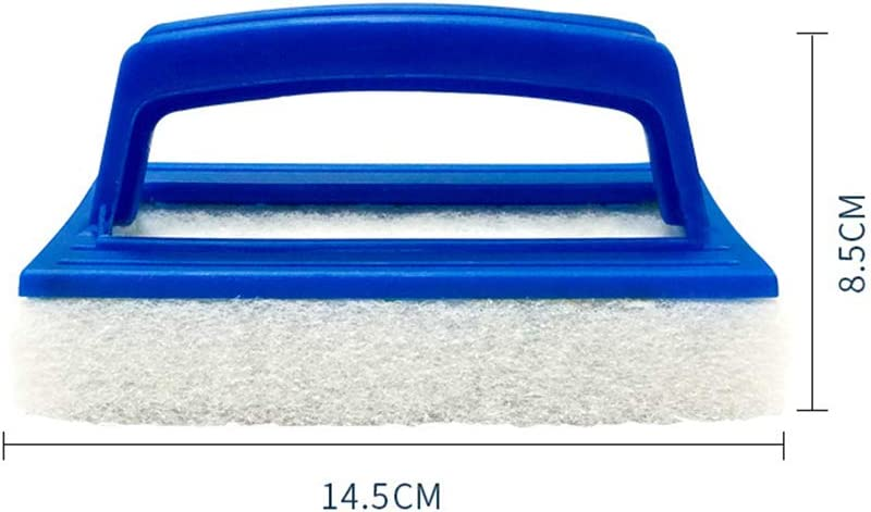 Baignoire Borstu /éponge de Nettoyage de Bain /éponge de Nettoyage Tampon de Nettoyage d/épurateur de Piscine avec poign/ée pour piscines Bateaux salles de Bains