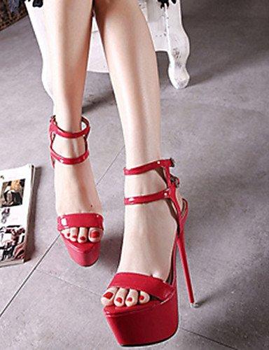 cn35 Zapatos cn34 PU us5 black cn34 Tacones mujer 5 Blanco Tacones eu36 de Stiletto uk3 us5 eu35 uk3 black Negro 5 Tacón Fucsia white uk3 GGX eu35 Casual us5 fcadWf