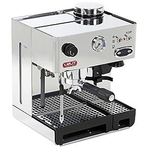 Lelit Anita PL042TEMD Macchina Espresso Semiprofessionale con Macinacaffè Incorporato Ideale per Caffè Espresso, Cappuccino e Cialde Carta - Carrozzeria in Acciaio Inox - Doppio Regolatore di Temperatura Caffè e Vapore con TermoPID